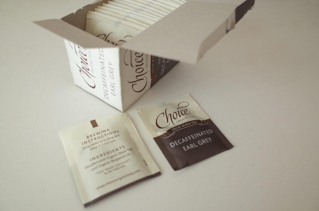 グラナム デカフェアールグレイ Choice organic teas