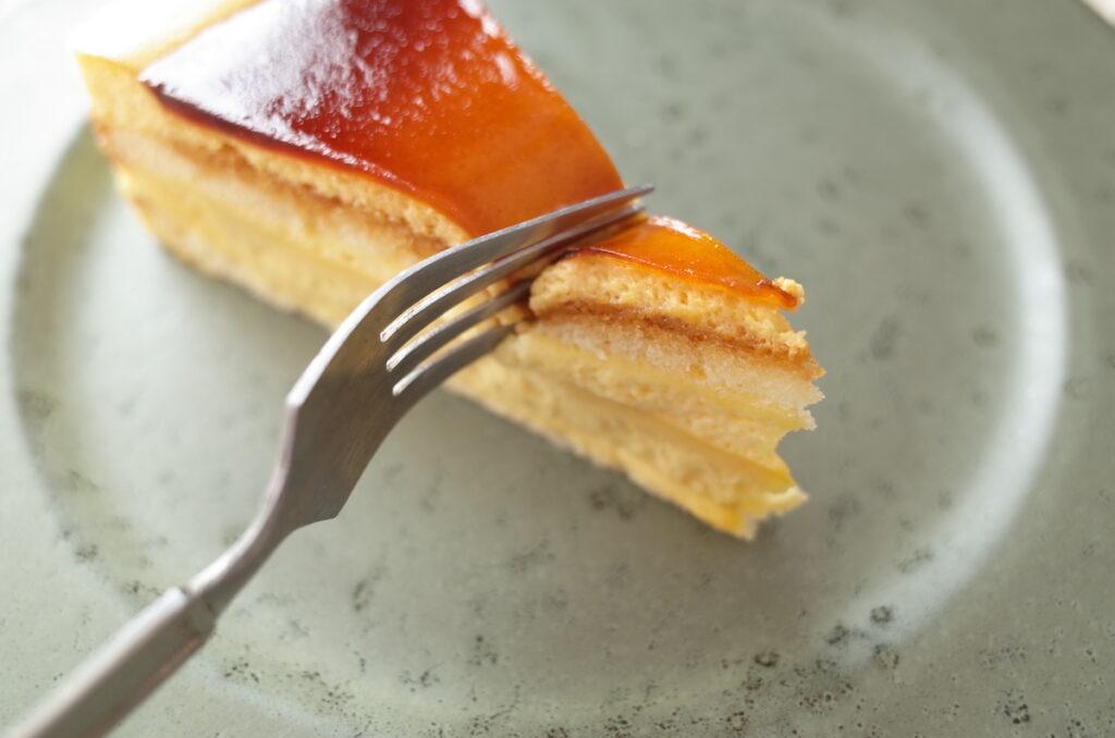 スターバックス カスタードプリンケーキ